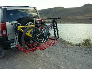 Canastilla con Bloqueos para Bicicleta