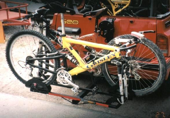 Rack Tirón para 2 Bicicletas